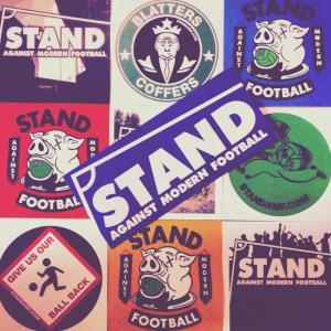 STAND stickers